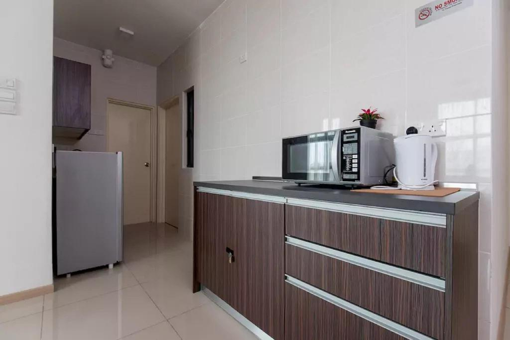 dapur BYKA 1 Bedroom Vacation Home - Vista Alam Suite