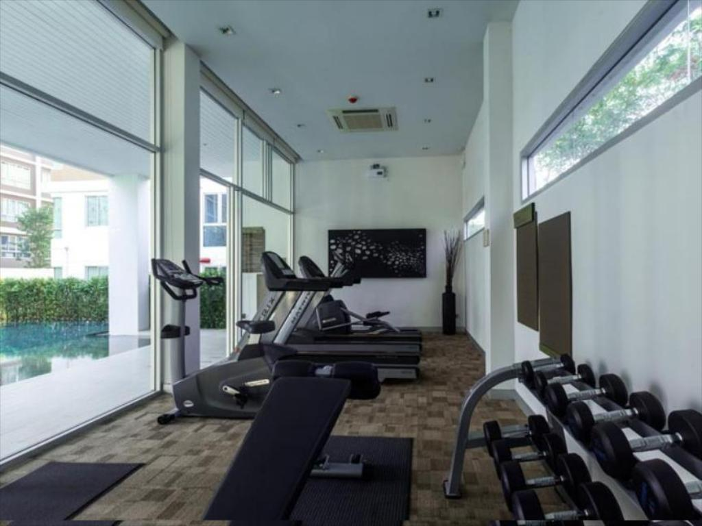 fitnesscenter Baan Kukieng Condo By Smart Holiday