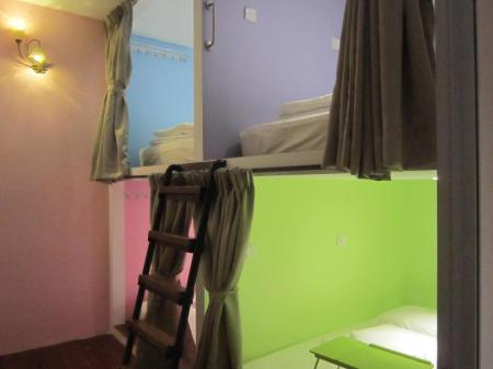 Double Bed in 4-Bed Dormitory Room Thirty Three Stewart Houze Guest House