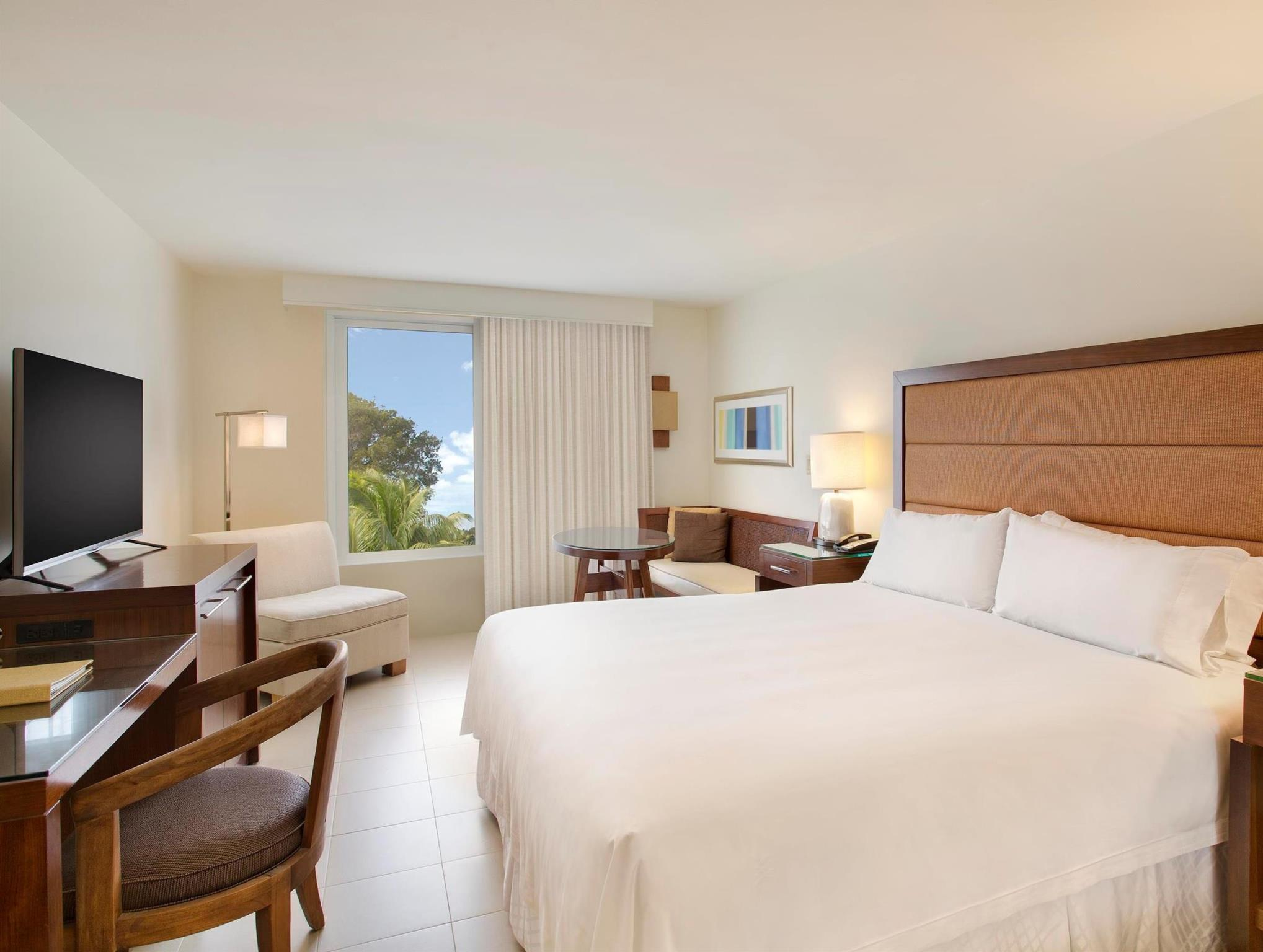Ocean View Room with King Bed and Lanai (Ocean View King Lanai)