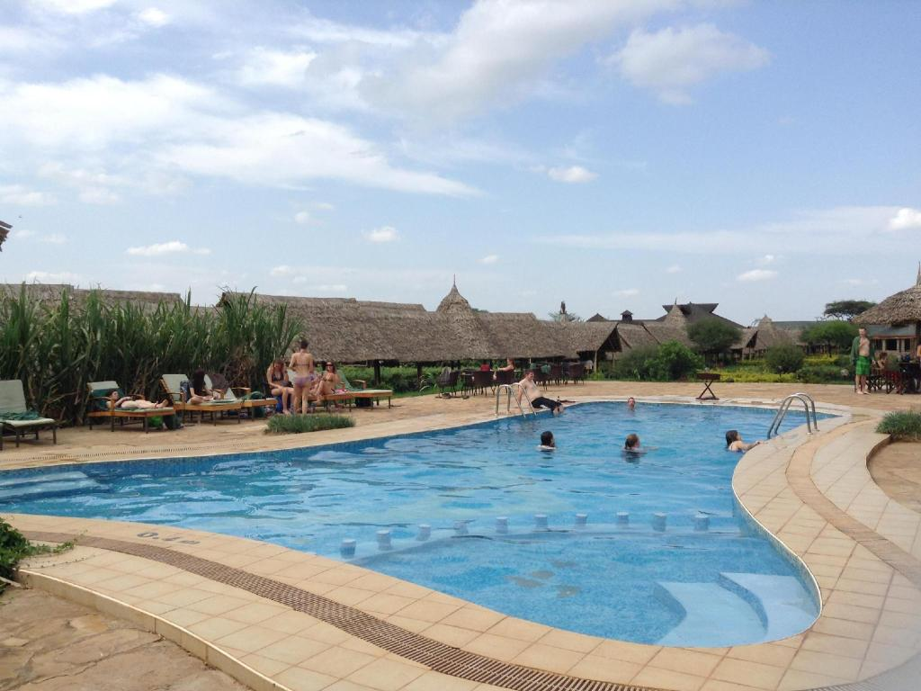 Swimmingpool AA Lodge Maasai Mara