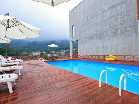 Swimming pool Touch Sky Pension