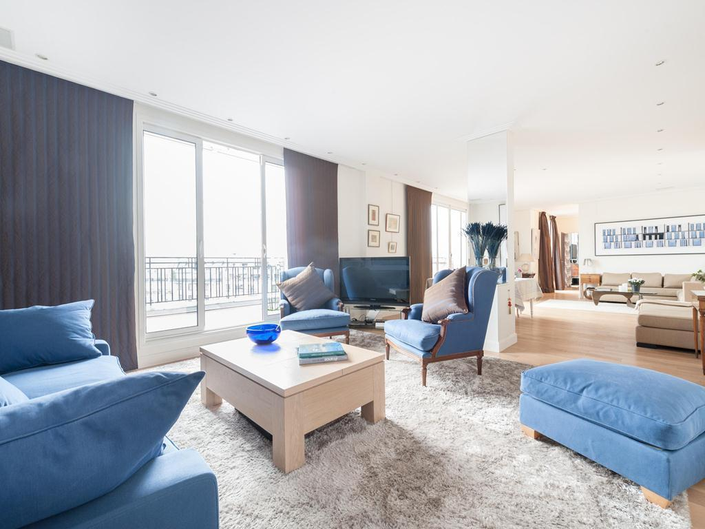 Interior view Eiffel Tower by onefinestay