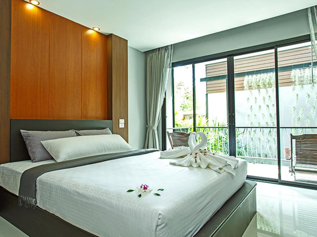 Deluxe Double avec jardin - Chambre The Breeze Lipe Resort