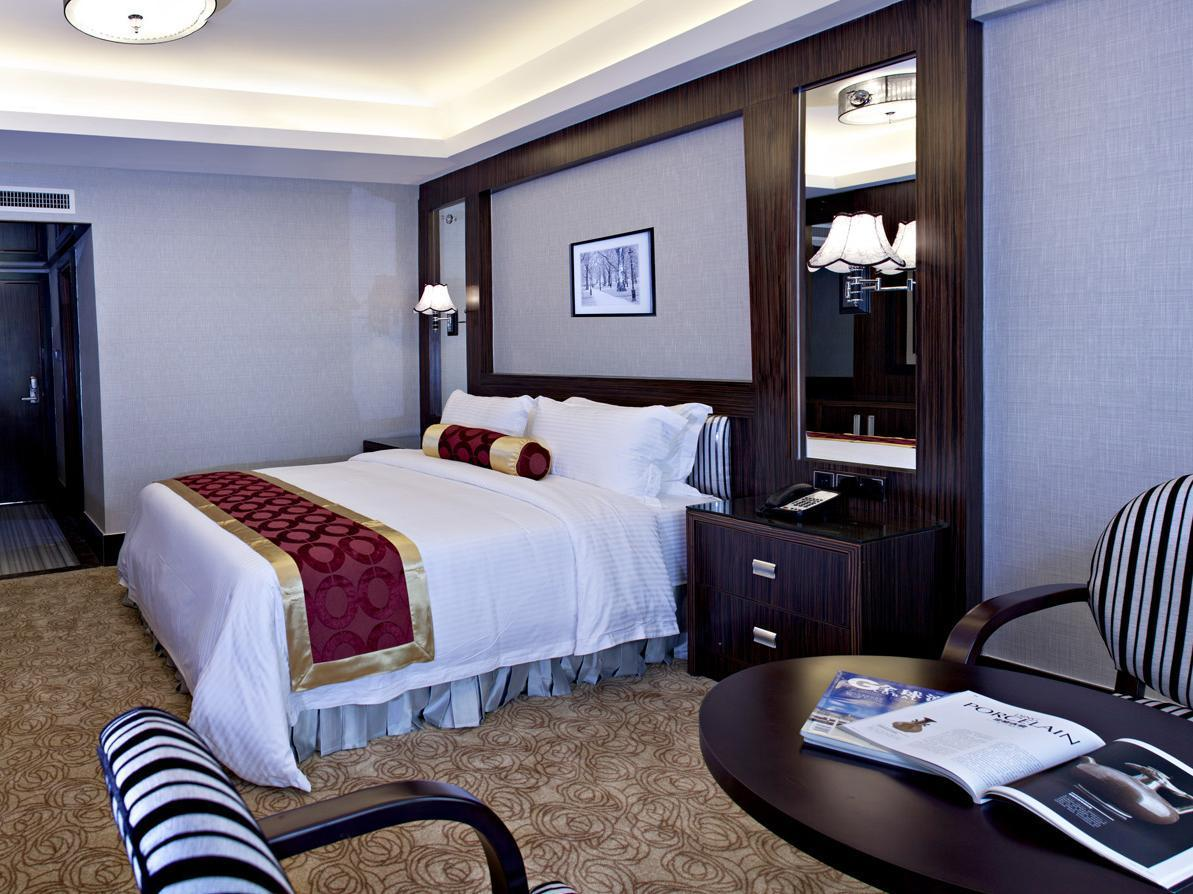 Deluxe cu pat king cu vedere la oraș (Deluxe City View with King Bed)