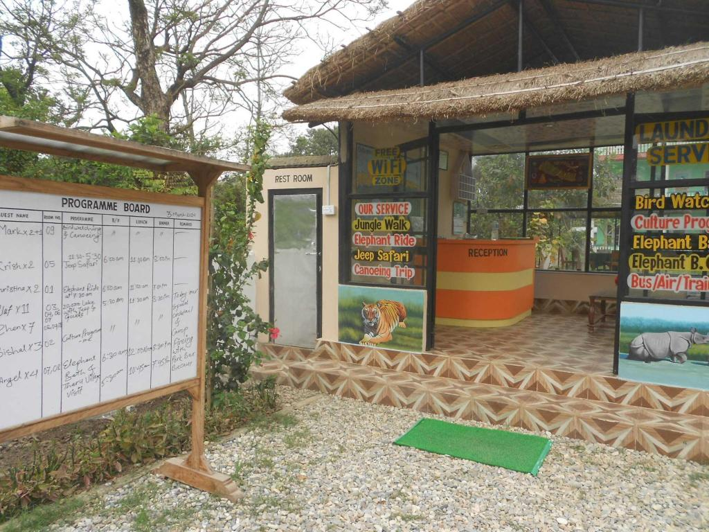 Recepción Eco Adventure Resort