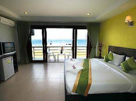 Deluxe Double or Twin Room with Sea View - Guestroom Kohkwang Seaview Resort