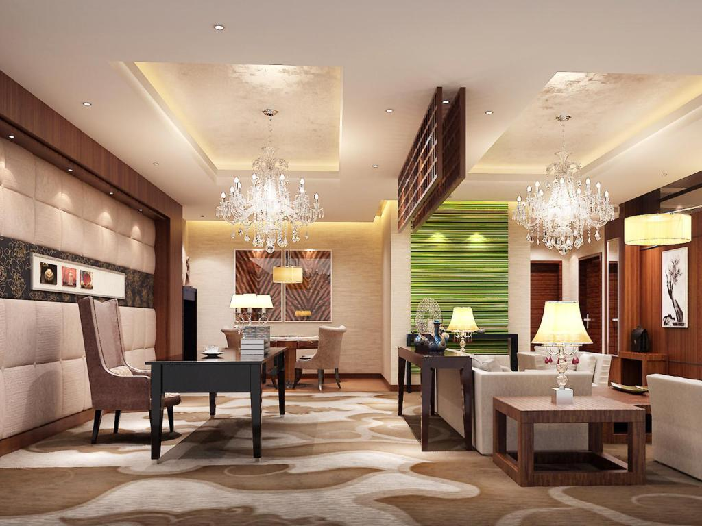 مكتب إستقبال فندق زيان ليشان إنترناشيونال هوليداي (Xian Lishan International Holiday Hotel)
