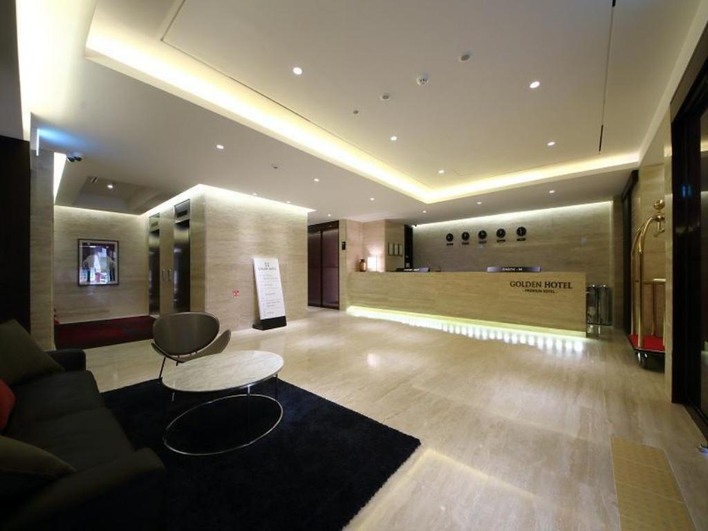 Lobby Golden Hotel Incheon