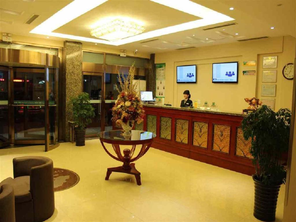 Vestíbulo Greentree Inn Tengzhou Middle Pingxing Road Guihe Shell Hotel