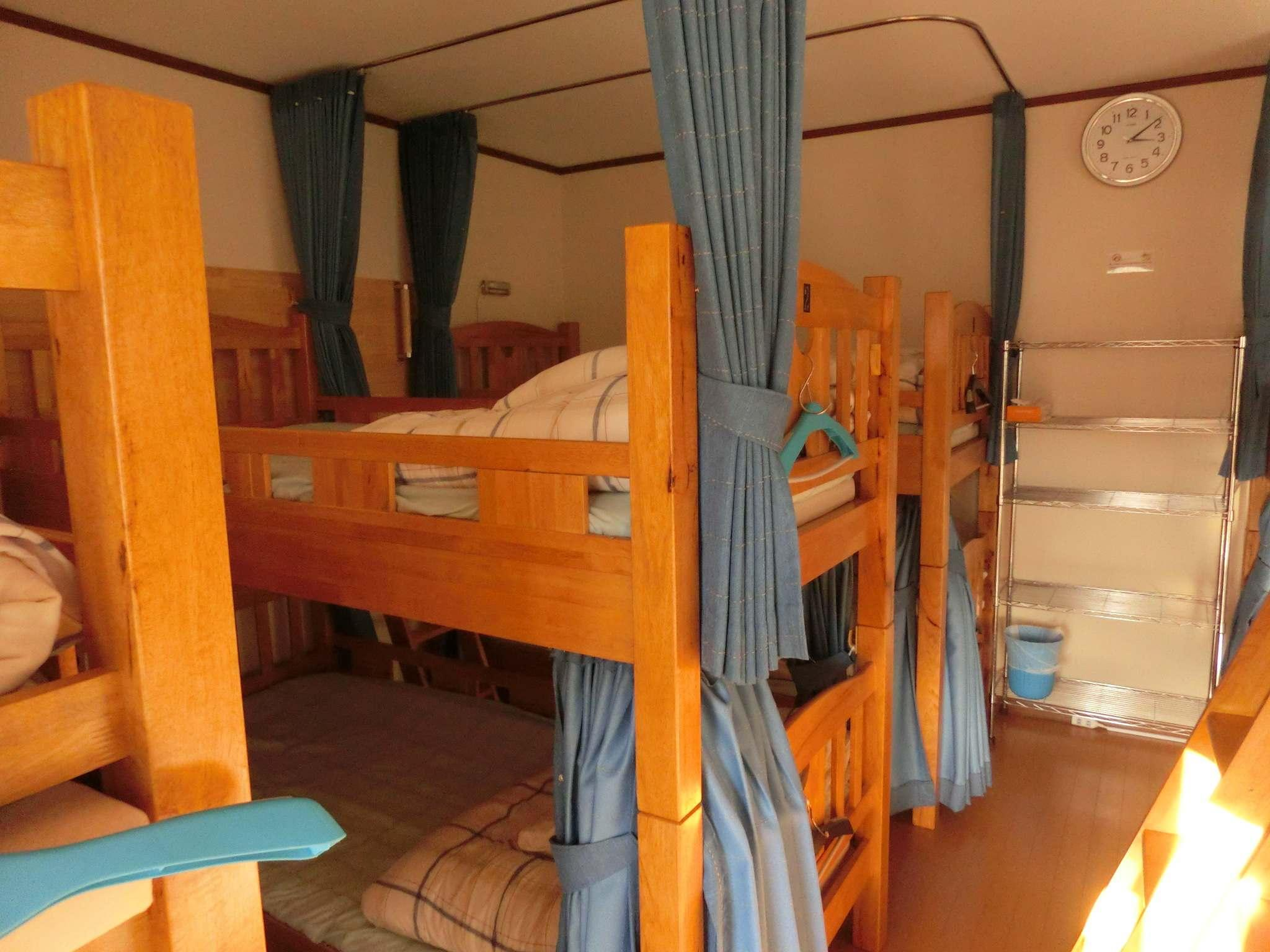 Bunk Bed in 2 Mixed Dormitory Rooms