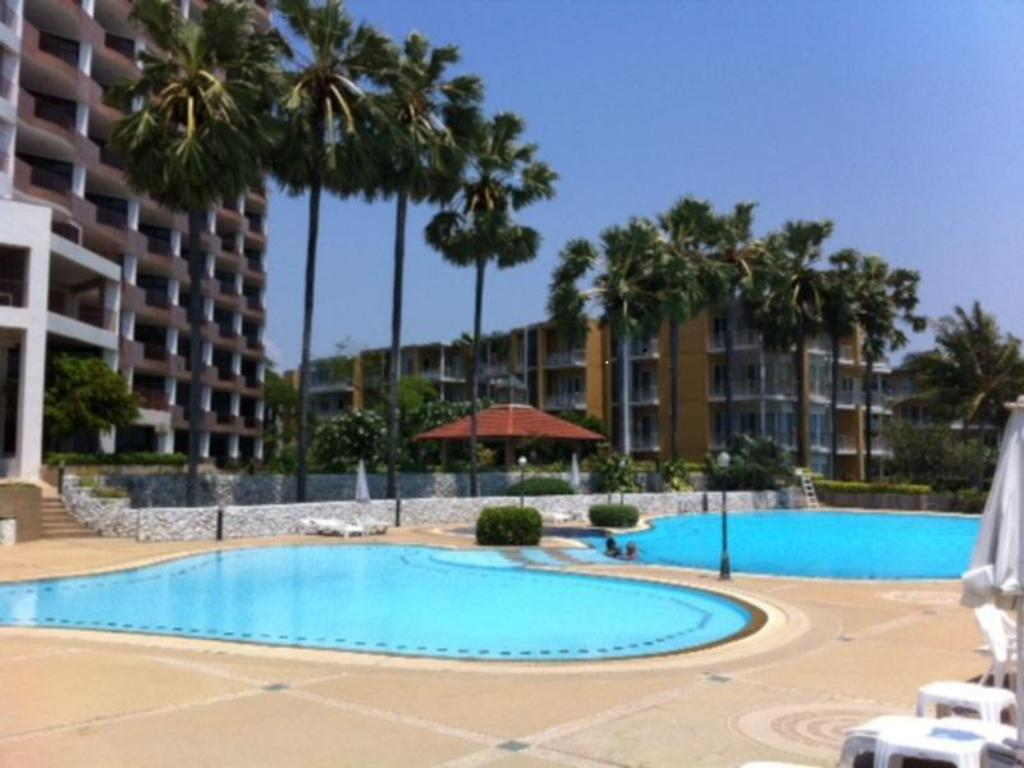 Piscina Cha-Am Beach Club Condo By O