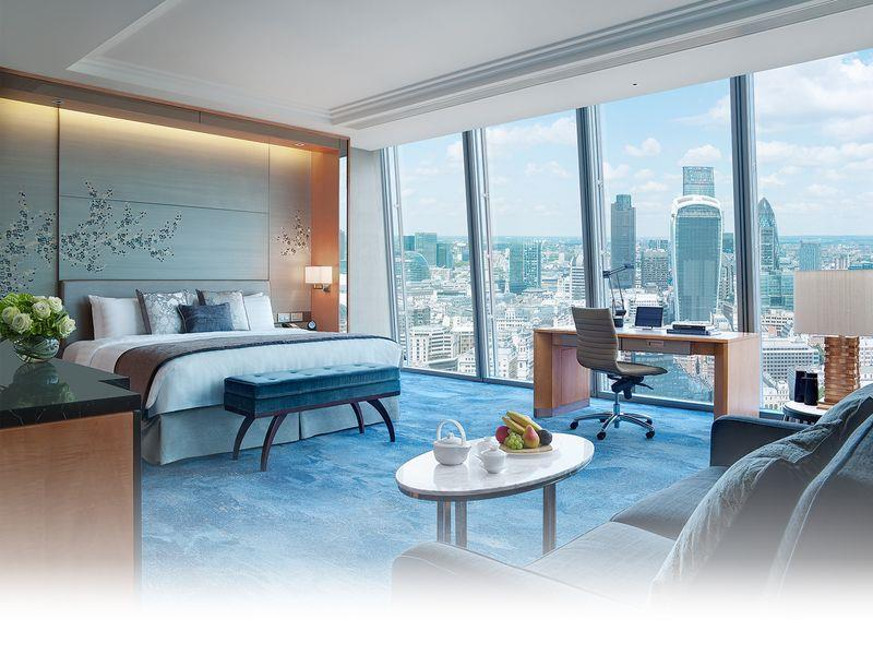 Premier Twin soba s pogledom na grad (Premier City View Twin Room)