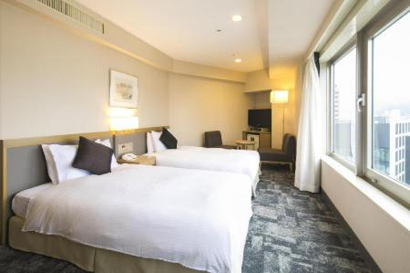 Deluxe Twin - Non-Smoking - Room plan Hotel Jal City Nagano
