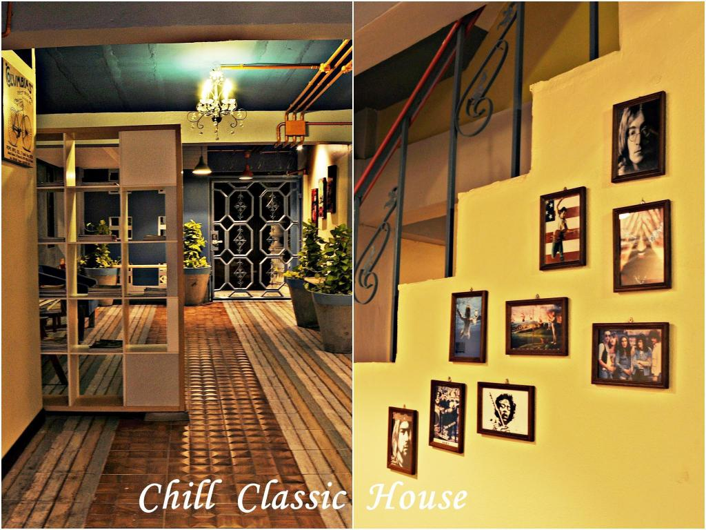 Hotellet indefra The Chill Classic House