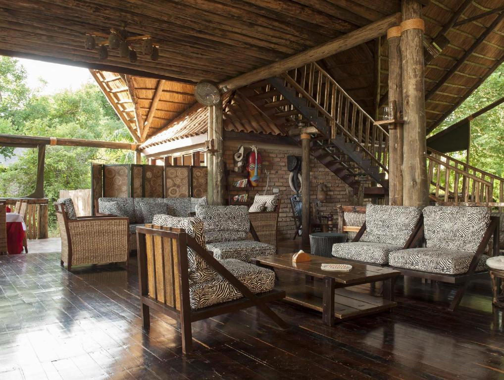 Interior view Selous Kinga Lodge