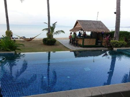 Swimming pool Baan Bophut Beach Hotel