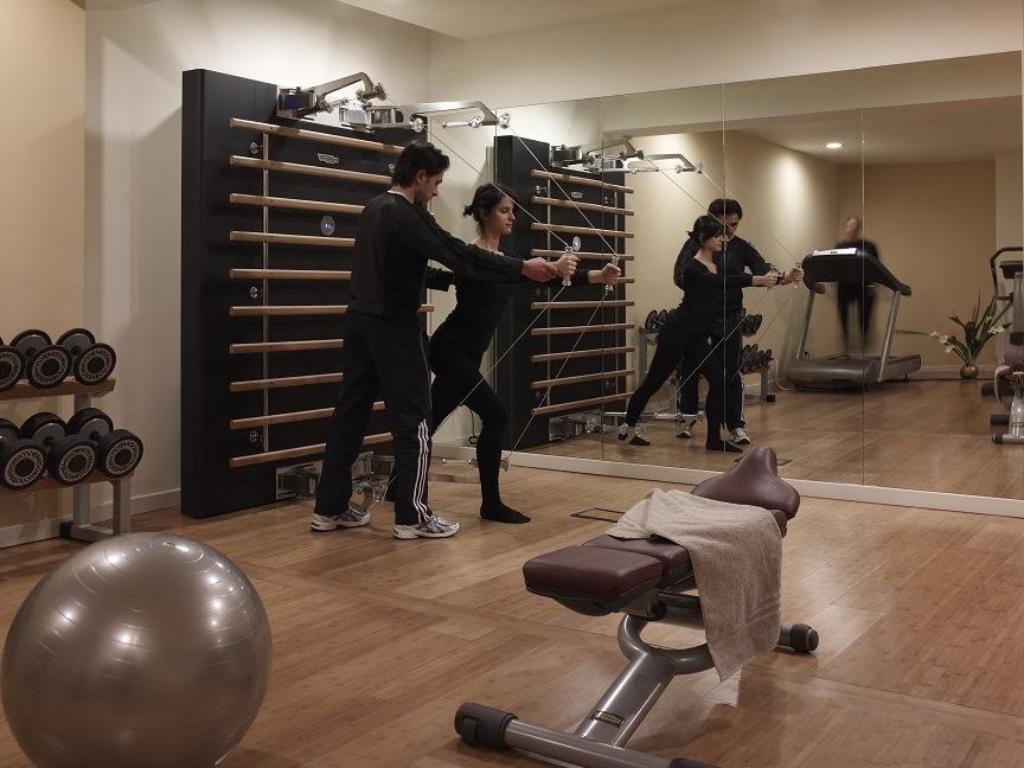 Fitness merkezi Baglioni Hotel Carlton – The Leading Hotels of the World