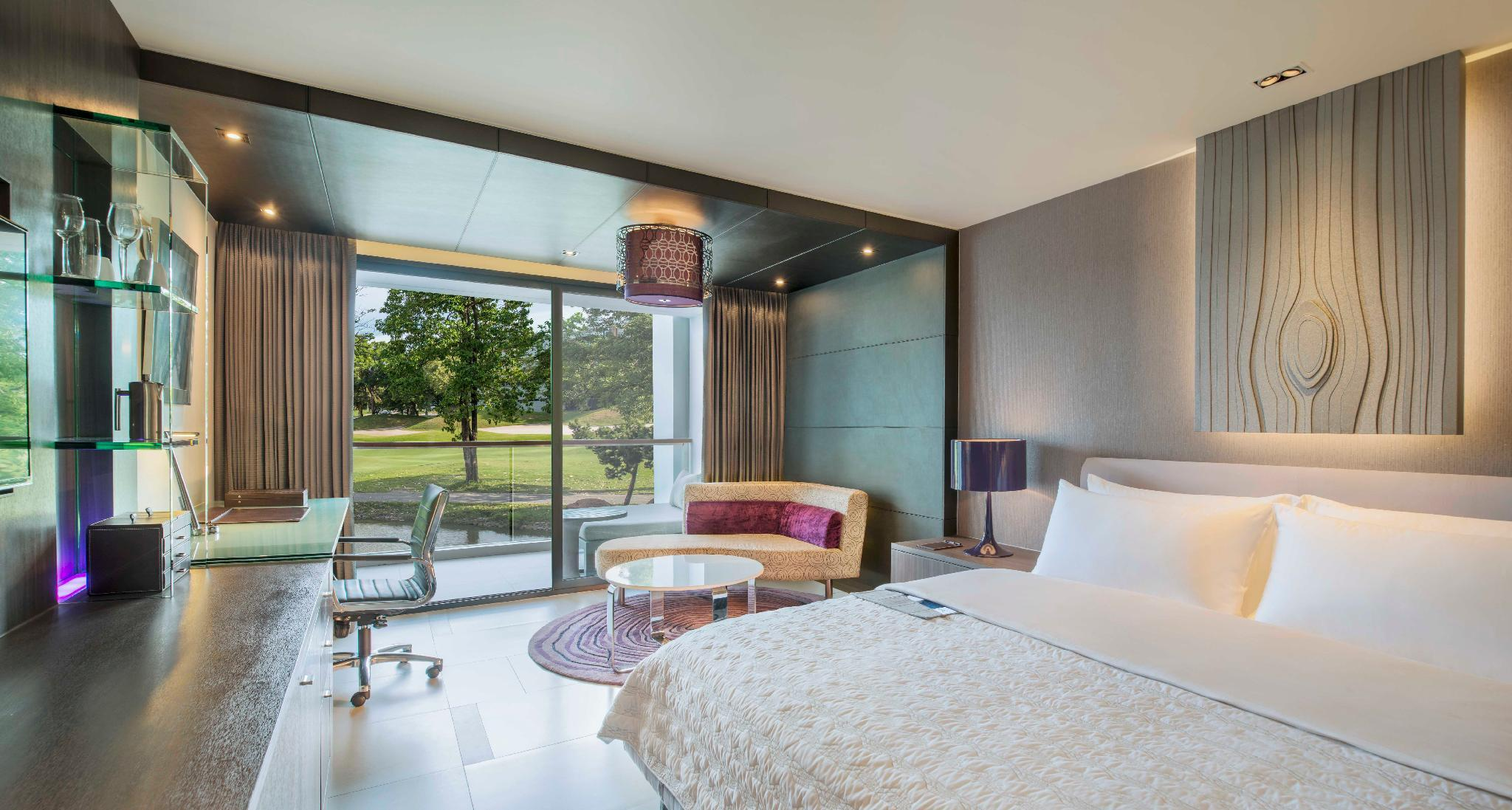 Grande Club, Guest room, 2 Double, Golf view, Balcony