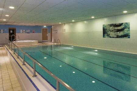 Swimming pool Holiday Inn Edinburgh