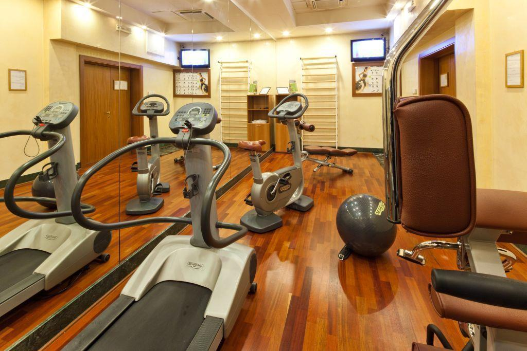 Fitness center Best Western Hotel Mirage