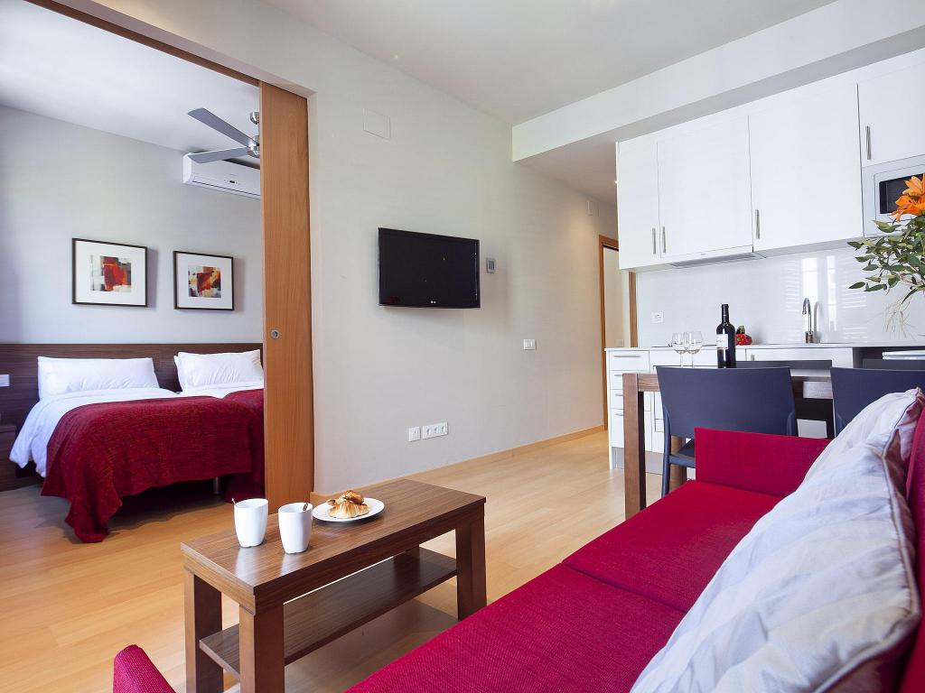 2 Bedroom Apartment (4 Adults) - Guestroom Bonavista Apartments - Eixample