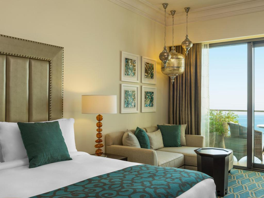 Deluxe Seaview - Bed Ajman Saray a Luxury Collection Resort