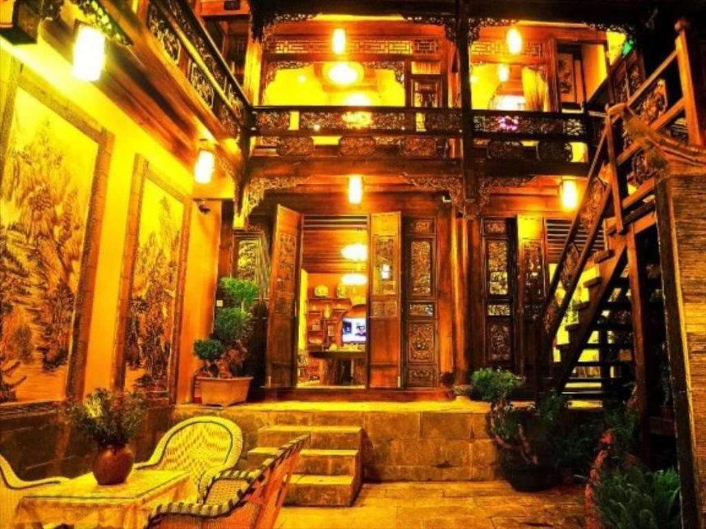 Lobby Lijiang Love Boutique Hostel