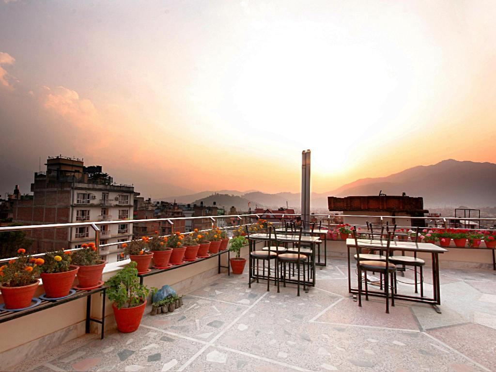 Balcony/terrace Thamel Grand Hotel