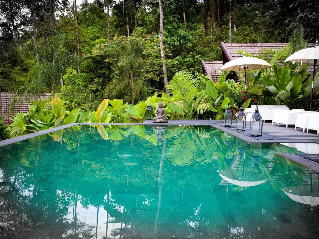 Swimmingpool Oxygen Jungle Villas