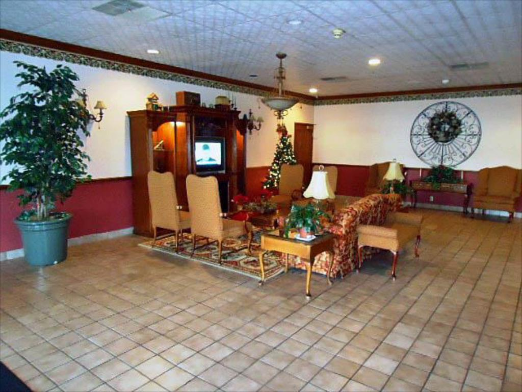 Interior view Motel 6 Troy OH