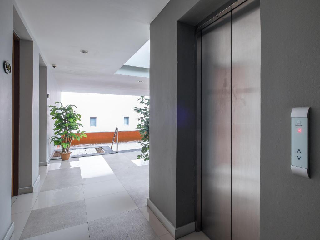 Hotellet indefra The Pad Silom Convent Serviced Apartment