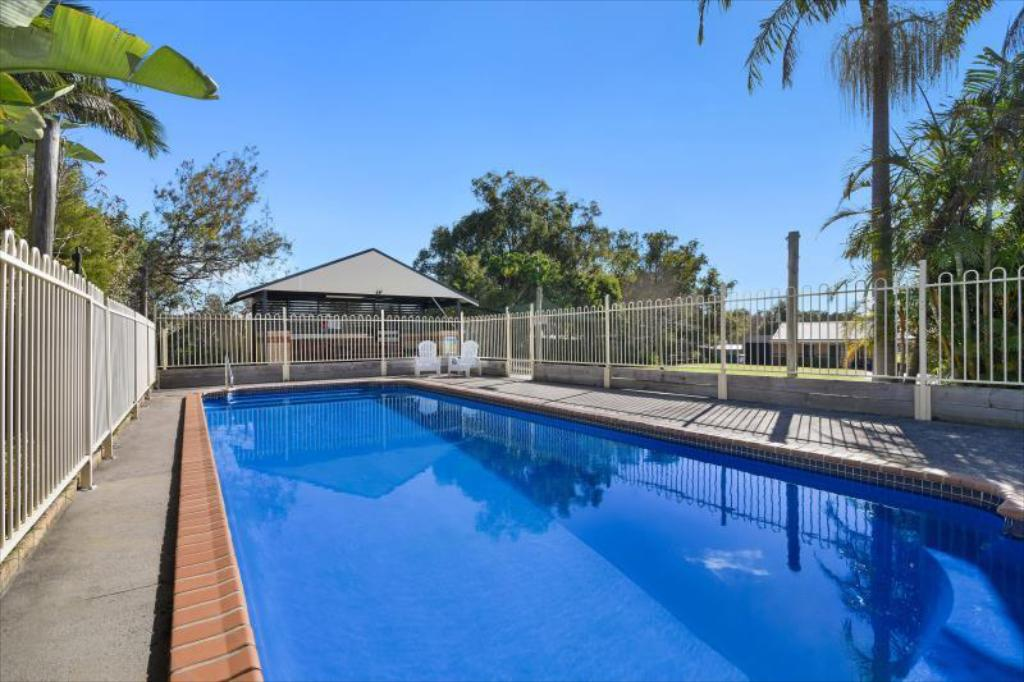 Swimming pool [outdoor] Catalina Motel Lake Macquarie