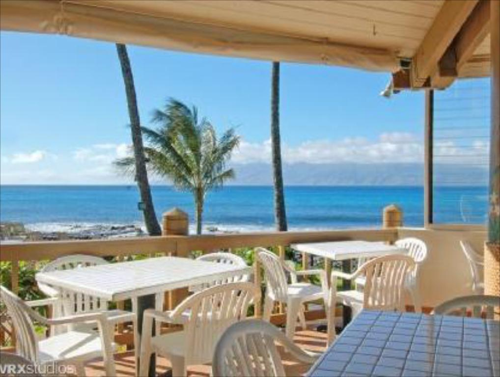 Balkons/terase Napili Shores Maui by Outrigger