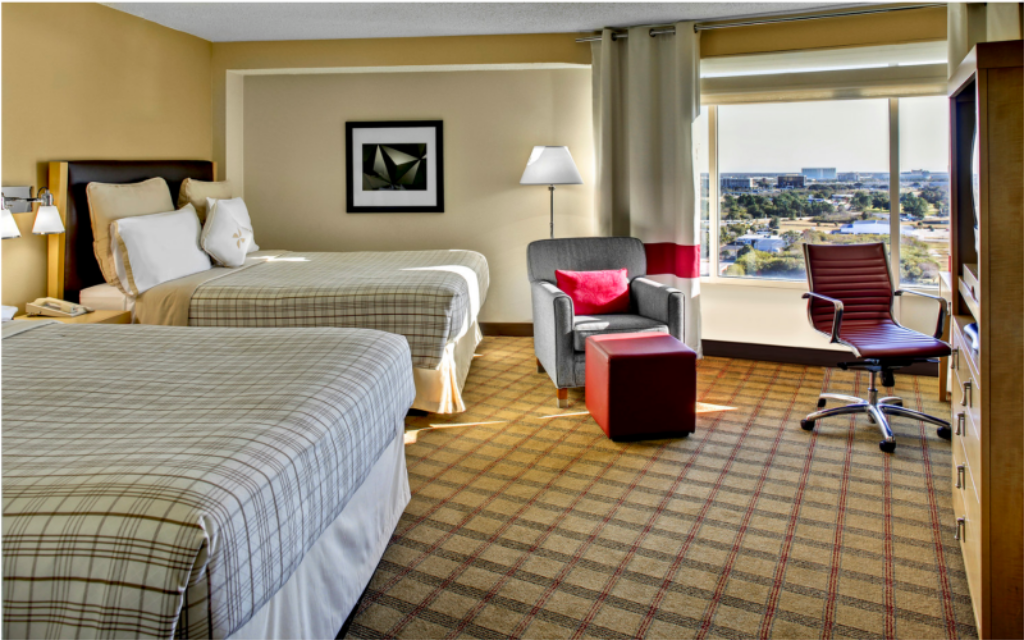 Traditional 2 Queens Four Points by Sheraton Orlando Studio City (Four Points by Sheraton Orlando International Drive)
