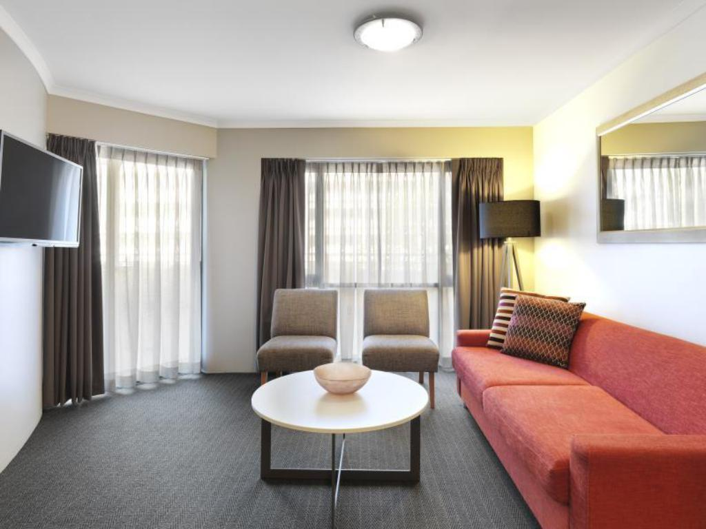 Interior view Medina Serviced Apartments Canberra James Court