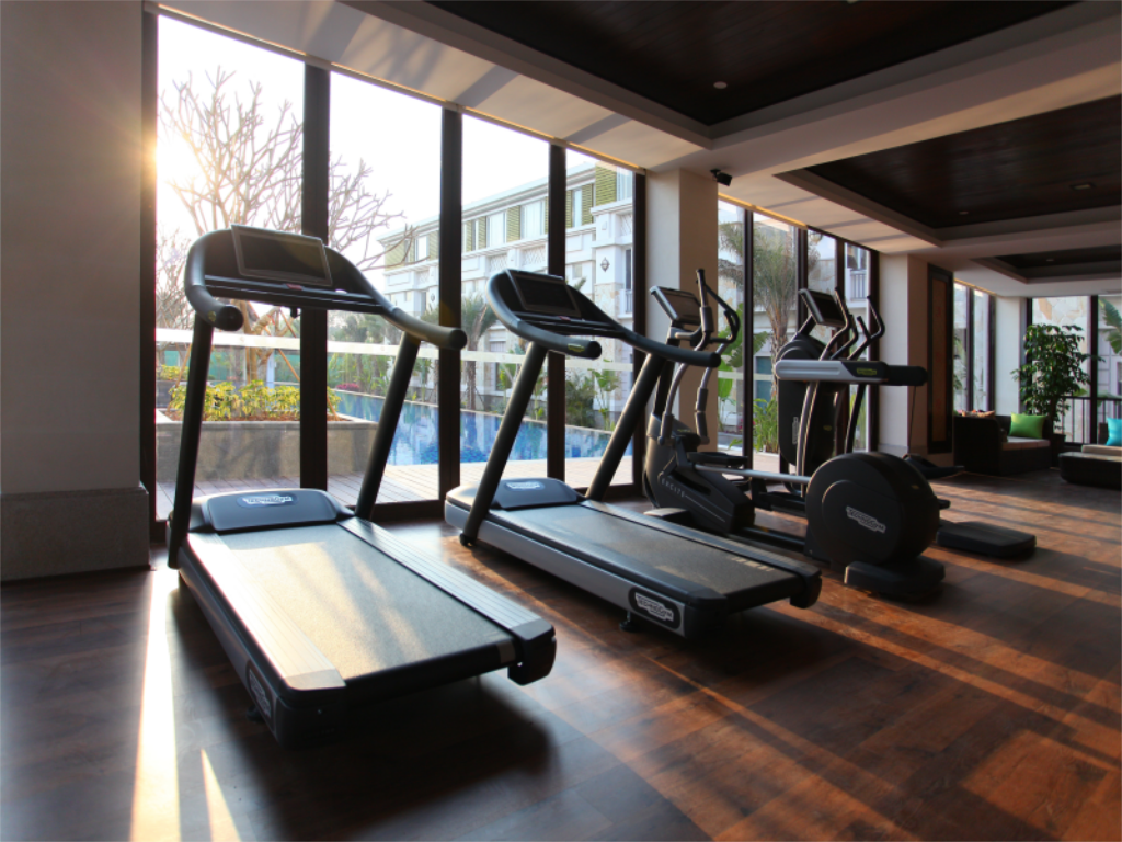 Fitness center Riyuegu Hotsprings Resort