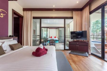 2-Bedroom Villa with Plunge Pool - Bed The Briza Beach Resort
