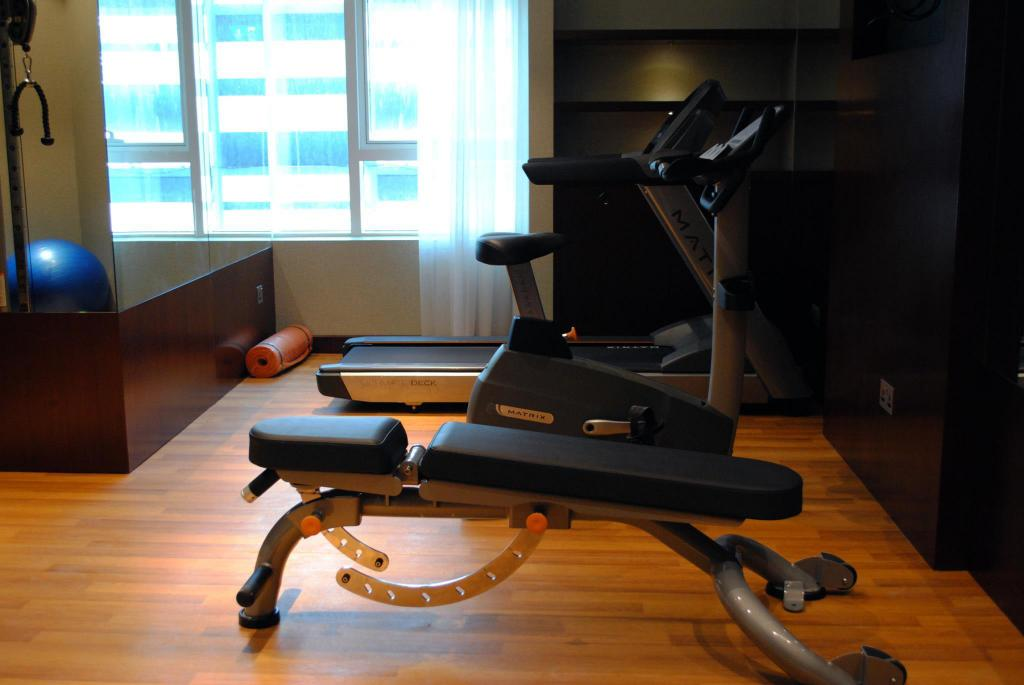 Fitness center Versailles by Raviz Hotel
