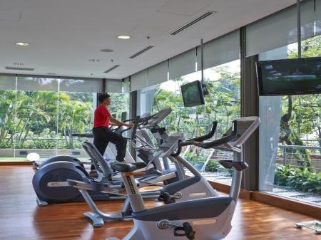 Fitness center Eastin Hotel