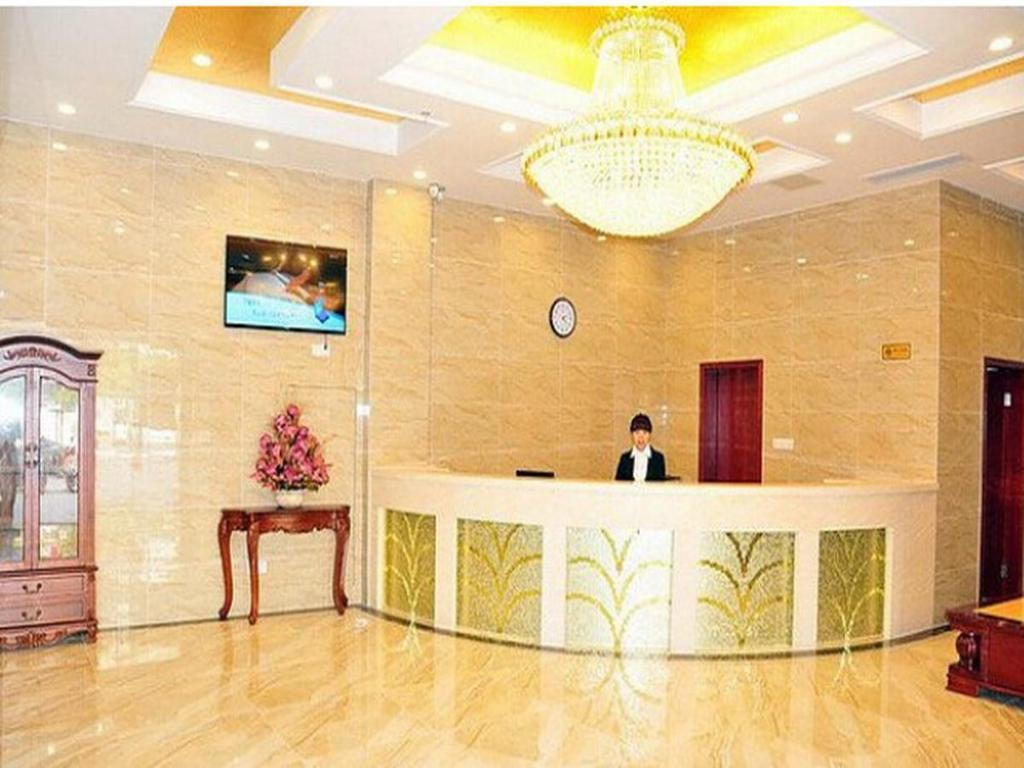 Empfangshalle Greentree Inn Wuxi Changjiang North Road Jincheng Road Express Hotel
