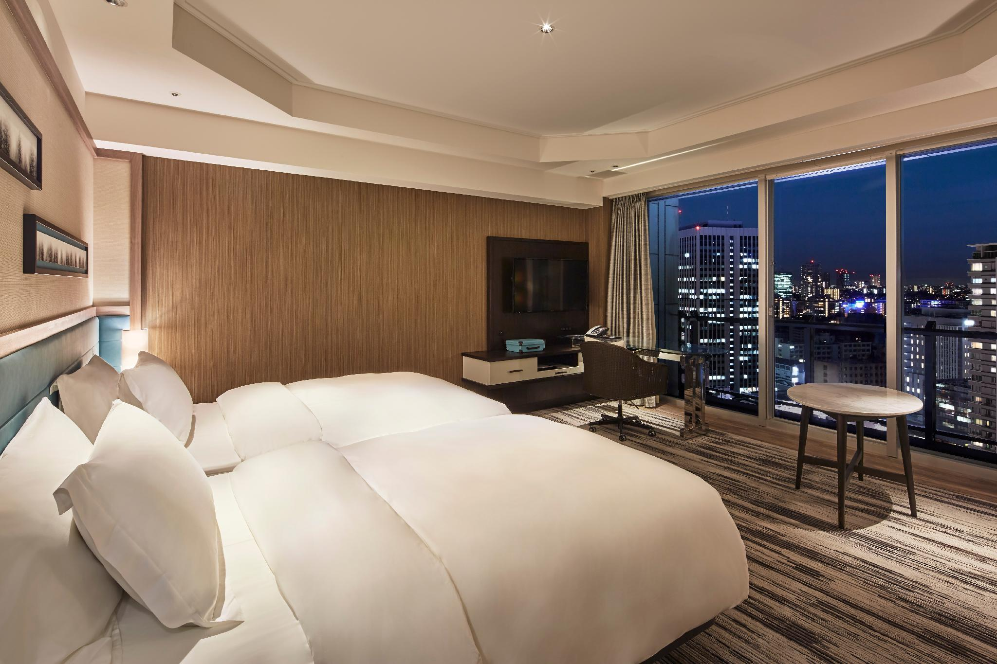 【全新裝修】客房(兩床/全景層) - 禁煙 (Panoramic Floor Twin Room - Newly Renovated, Non-Smoking)