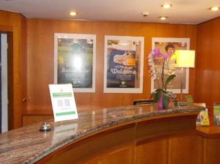 Lobby Holiday Inn Milan Linate Airport