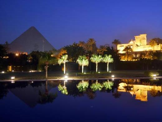 Guest room, 1 King or 1 Twin/Single Bed(s), Pyramids view
