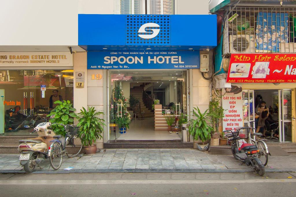 Exterior view Spoon Hotel
