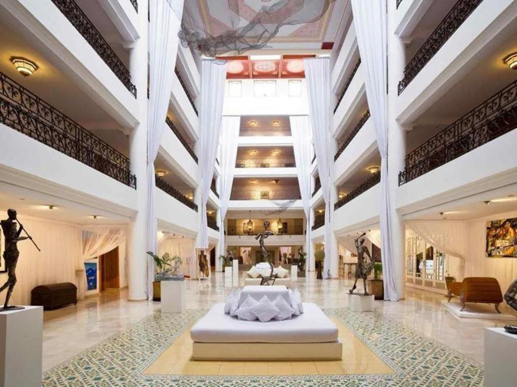 Lobby Sofitel Marrakech Lounge And Spa Hotel