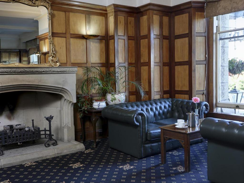 Innvendig Best Western Duke Of Cornwall Hotel