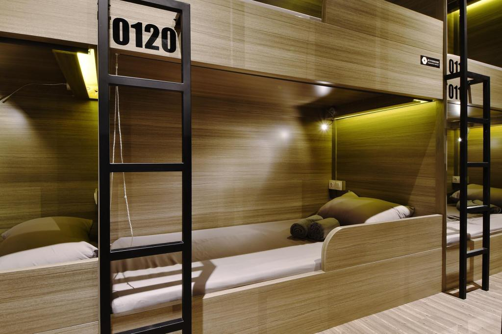 Single Pod - Female Only - Bed MyPodRoom Capsule Hotel