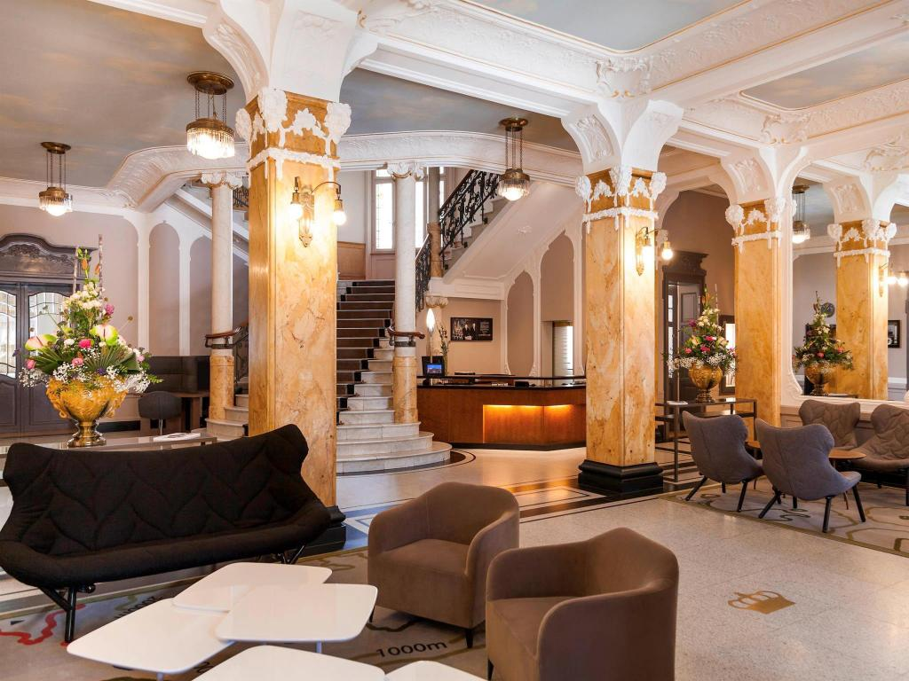 Interior view Hotel Royal St Georges Interlaken - MGallery