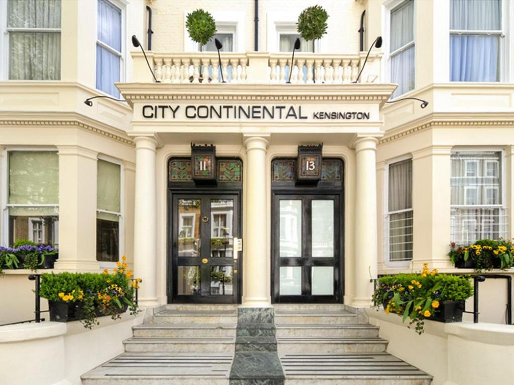 外觀 倫敦肯辛頓市大陸飯店 (City Continental London Kensington Hotel)